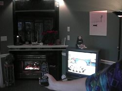 control lights, tv, stereo, fireplace by remote control